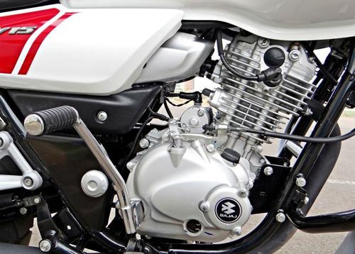 moto bajaj v15 2018 150cc 0km azul entrega inm financ - rvm