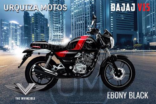 moto bajaj v15 vikrant 150 invencible 0km urquiza motos