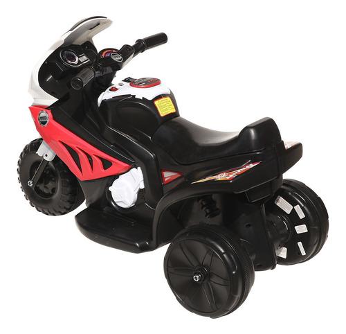 moto batería con luces y sonido encendido automático niño/a