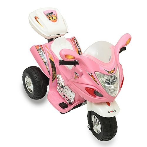 moto bateria triciclo infantil 6 v musica luces
