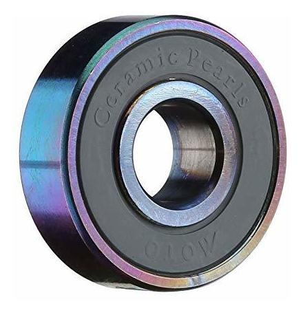 moto bearings - ceramic pearl skate bearings - set of 16 pre