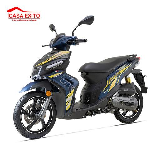 moto benelli vz125i 125cc año 2020 color ne/ ro/ az