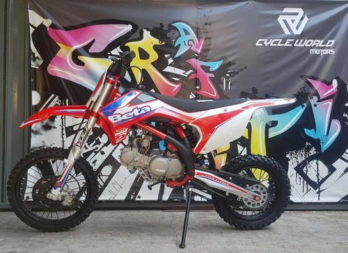 moto beta 125 rr 0km 2020 mini cross big wheel hasta el 25/5
