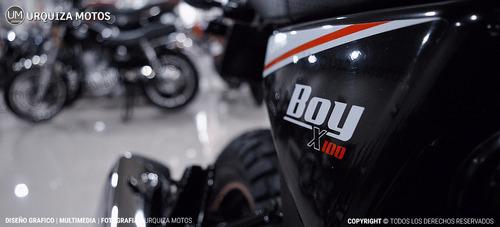 moto beta boy 100 + baul shad 29 litros sh29 urquiza motos