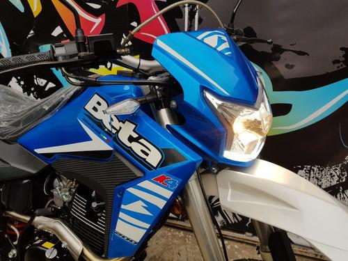 moto beta motard  200 0km 2018 promo hasta 19/10 c/ patente