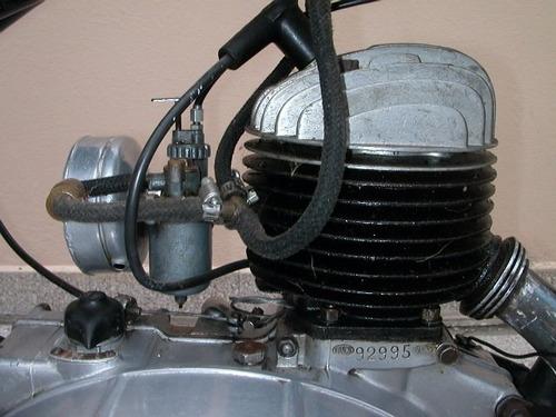 moto bianchi 125 modelo 1947