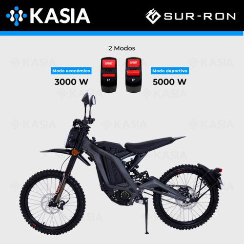moto bicileta electrica su rron light bee l1e motor potente