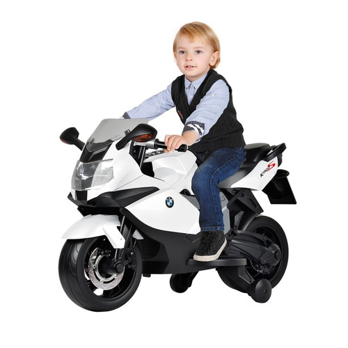 moto bmw k1300 branca - el 6v - bandeirante 2627