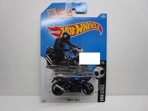 moto bmw k1300 escala miniatura 1/64 coleccion hot wheels
