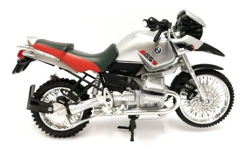 moto bmw r i200 gs plomo scala 1.12 new ray - 53813a
