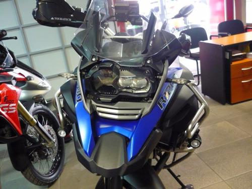 moto bmw r1200 gs modelo 2015 color azul