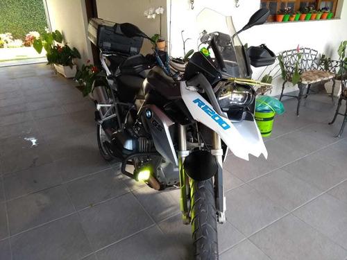 moto bmw r1200 gs premium branca 2013 impecável