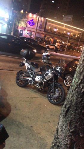 moto bmw r1200gs triple black top de linha