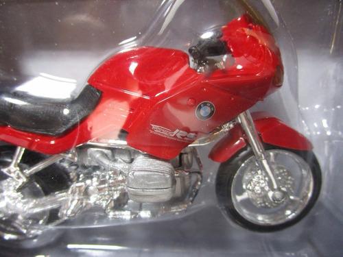 moto bmw rs escala 1/18 coleccion metalica 12cm