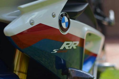 moto bmw  s 1000 rr full full tricolor solo mil km