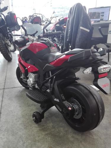 moto bmw xr electrica, marcha hacia atas, juguete bateria