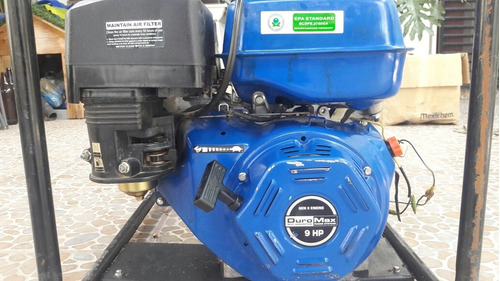 moto bomba aguas limpias o residuales 9 hp a gasolina 4