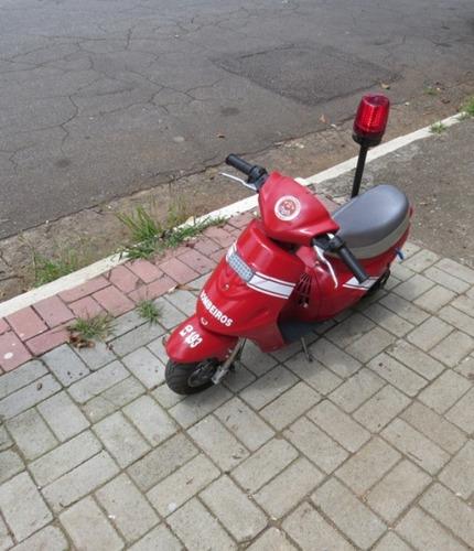 moto bombeiro 2012 motor 35 cc dois tempos chassis reforçado