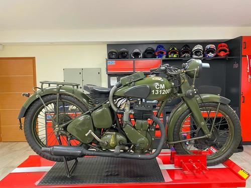 moto bsa 1947 militar orig impecable unica