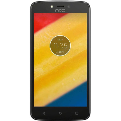 moto c xt1758 16gb libre de fábrica color blanco + funda