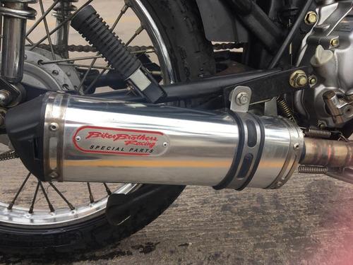 moto cafe racer 125cc nueva