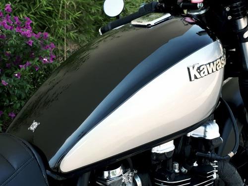 moto cafe racer kawasaki 1982