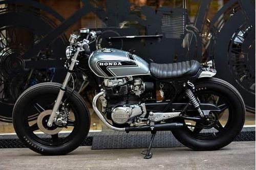 moto cafe racer scrambler tracker modificaciones