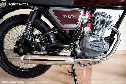 moto cafe racer zanella ceccato 150r 150 r 0km urquiza motos