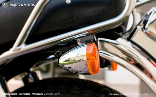 moto calle chopper street suzuki gn 125 f 0km  modelo nuevo