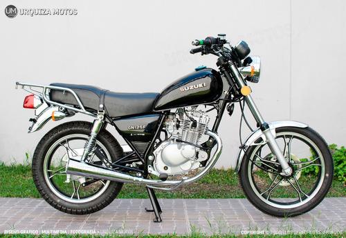 moto calle street suzuki gn 125 f 0km chopper nuevo modelo