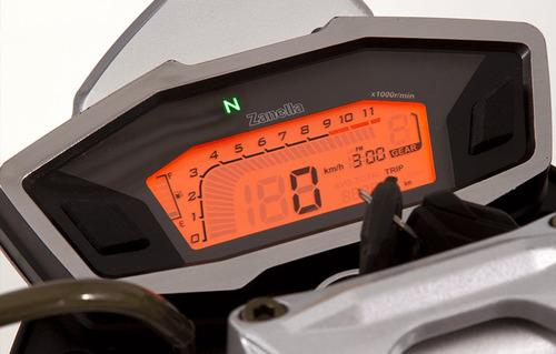 moto calle zanella rz3 naked rz 3 0km urquiza motos