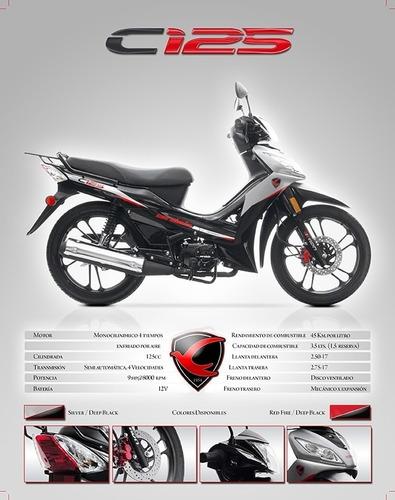 moto carabela c125 semiautomatica
