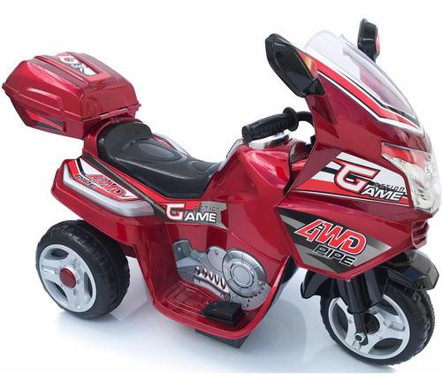 moto carro recargable electrica 4 año negr rosado rojo vinot