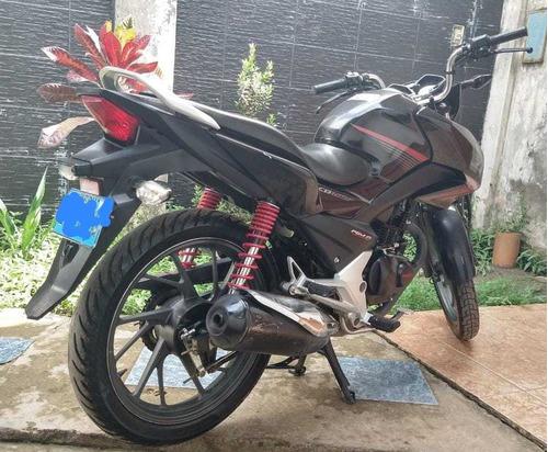 moto cb 125 f - semi nuevo
