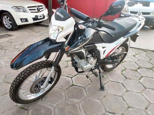 moto cerro 180 2018  30000 y cuota fija en peso