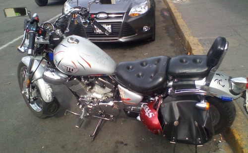 moto chopper clásica w 2001, 250cc, 11,000kms, impecable !