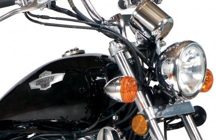 moto chopper corven indiana 256