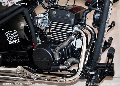 moto chopper custom zanella 350 0km urquiza motos