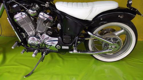 moto chopper honda shadow