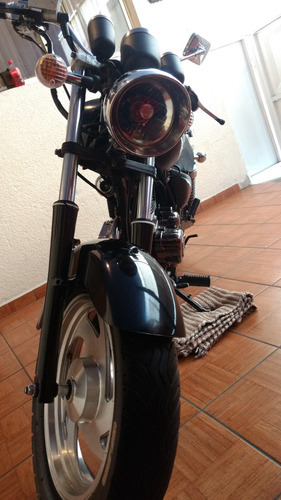 moto chopper ktm japonesa 2003 a tratar