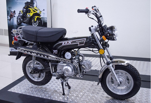 moto ciclomotor 0km corven dx 70 dax urquiza motos