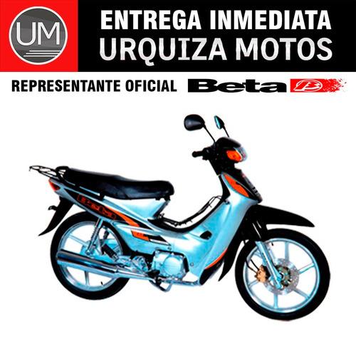 moto ciclomotor beta bs 110 bs110 canasto 0km urquiza motos