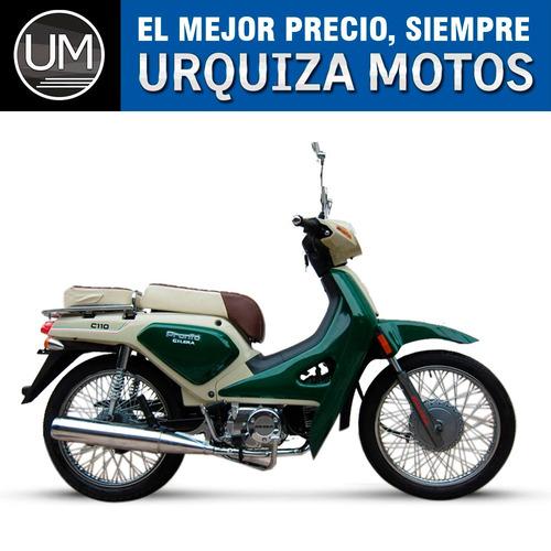 moto ciclomotor gilera c110 pronto c 110 0km urquiza motos
