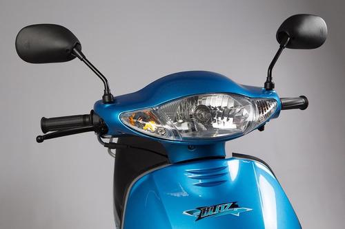 moto ciclomotor motomel blitz 110 v8 base 0km urquiza motos