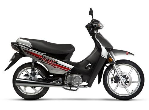 moto ciclomotor motomel blitz 110 v8 full con alarma 0km