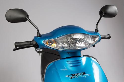 moto ciclomotor motomel blitz 110 v8 full rayos disco