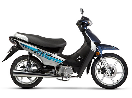 moto ciclomotor motomel blitz 110 v8 full rayos disco alarma