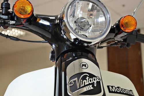 moto ciclomotor motomel go 125 vintage 0km um nuevo!