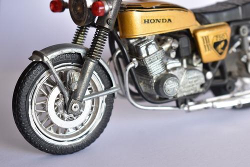 moto colección escala