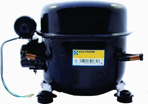 moto compresor kulthorn 3/4 hp r22  220v ae-7445ek + accesor